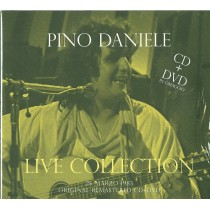 CD PINO DANIELE LIVE COLLECTION  CD+DVD 8044291081524