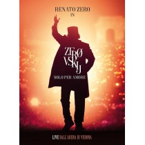 CD RENATO ZERO ZEROVSKIJ SOLO PER AMORE LIVE (2 CD) 8034097060687