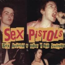 """LP 12"""" 33 GIRI SEX PISTOLS SEX, ANARCHY E ROCK 'N' ROLL SWINDLE  741157355314"""