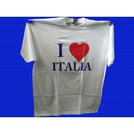 Maglietta I LOVE ITALIA taglia XL
