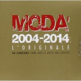 CD Modà 2004-2014 l'originale 2 CD PREZZO SPECIALE
