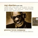 CD Ray Charles-Genius love company 10TH ANNIVERSARY