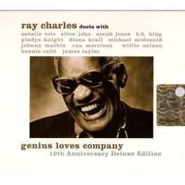 CD Ray Charles-Genius love company
