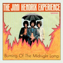 "JIMI HENDRIX EXPERIENCE Burning Of The Midnight Lamp Mono Ep 7"""