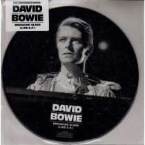 """DAVID BOWIE - BREAKING GLASS (LIVE EP) - 7"""" PICTURE DISC"""