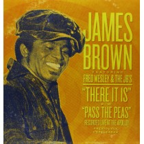 JAMES BROWN Live At the Apollo THERE IT IS / Pass the peas