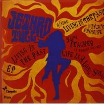 "Jethro Tull - Living in the past  4 tracks EP 7"" maxi single 33 GIRI"