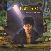 """FRANCO BATTIATO - L'ERA DEL CINGHIALE BIANCO / LUNA INDIANA - 7"""""""