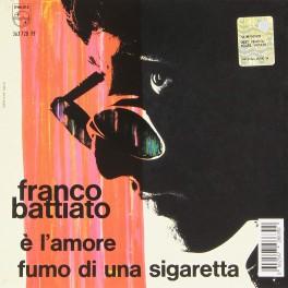 """Franco Battiato - E' L'amore / Fumo Di Una Sigaretta 7"""" RSD 2015"""