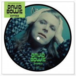 "DAVID BOWIE, CHANGES/EIGHT LINE POEM, 7"" PICT DISC, RSD 2015 EXCLUSIVE, 40TH"