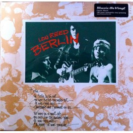 LOU REED - BERLIN LP 180G REISSUE EU 2008 RCA MUSIC ON VINYL 886970010412