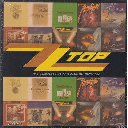 CD ZZ TOP - THE COMPLETE STUDIO ALBUMS 1970-1990 10CD, BOX SET