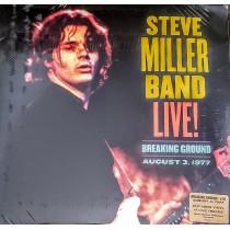 LP STEVE MILLER BAND - LIVE! BREAKING GROUND - 2LP VINYL 2021
