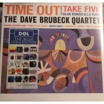 LP The Dave Brubeck Quartet – Time Out 2013 HQ DOL BLUE VINYL 889397006099