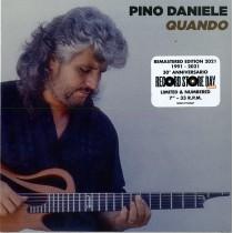 "PINO DANIELE - Quando / 'O Ssaje Comme Fa 'O Core -7"" 33 giri 5054197104947"