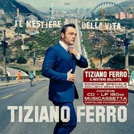 TIZIANO FERRO - Il Mestiere Della Vita - Box Set 2016 LP+Cd+MC+ Foto 602557234831