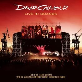 CD David Gilmour live in gdansk 2CD