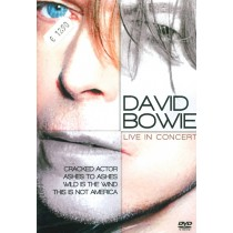 DVD David Bowie live in concert