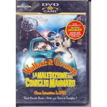 DVD GAME WALLACE & GROMIT LA MALEDIZIONE DEL CONIGLIO MANNARO