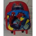 Zaino trolley asilo bimbo Spiderman italy style