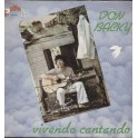 LP Don Backy vivendo cantando 12""