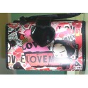 TROUSSE CON SPECCHIO PUCCA POP LOVE ITALY STYLE 8011410132856
