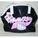SHOPPING BAG NERA HELLO KITTY ITALY STYLE 8034108723815