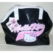 SHOPPING BAG NERA HELLO KITTY ITALY STYLE