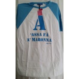Maglia originale NAPOLIMANIA 100% cotone 100% italiana 100%MADE IN NAPLES - 3863349193003