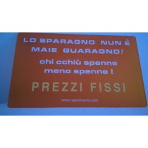 Targa da muro - 3863349193188- Napolimania - italy style