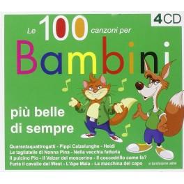 CD LE 100 CANZONI PER BAMBINI PIU' BELLE DI SEMPRE 8028980608421