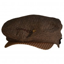 GUINNESS FLATCAP MARRONE 5390763402469