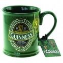 Tazza Guinness Beer Boccale Ceramica verde *03433 gadget idea regalo birra 5390711607144